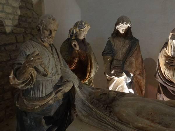 Mise au tombeau - Verteuil. François II de la Rochefoucauld ?