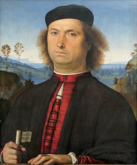 Le Pérugin - Portrait de Francesco delle Opere