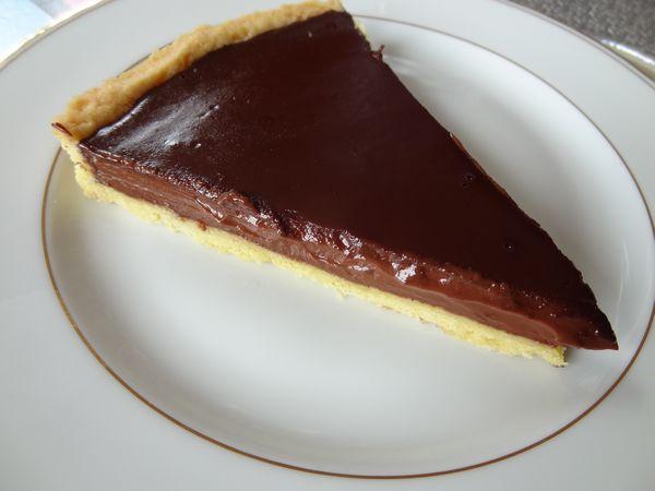 Tarte chocolat Brua