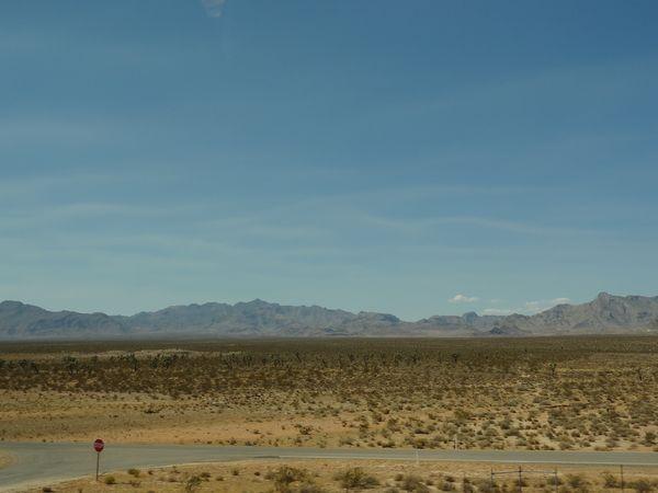 route netre Zion et Vegas