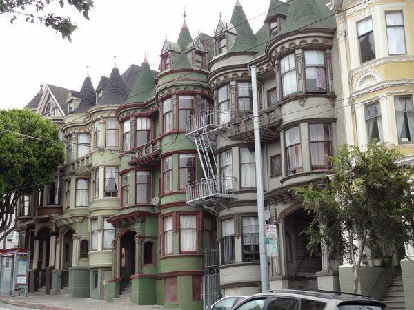 San Francisco, maisons victoriennes